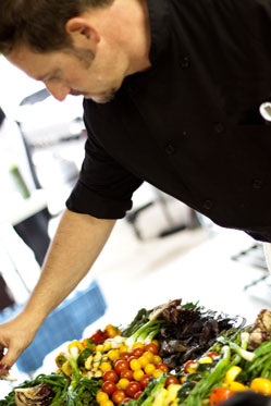 Chef Todd Wesley Brown - Wesley's Catering